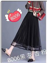 Спідниця-плісе жіноча стильна розмір універсальний 42-48 купити оптом зі складу 7км Одеса