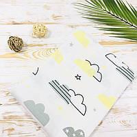 Муслиновая пеленка Lukoshkino ® Размер 80*100 см.  МП-117, фото 1