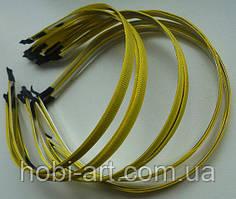 Обруч 7мм метал репс жовтий