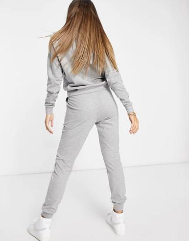 Женский спортивный костюм реглан серый, фото 2