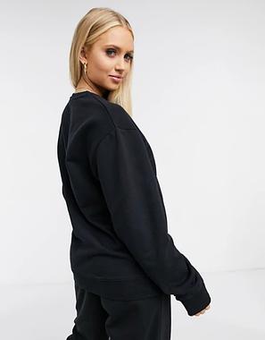Женский спортивный костюм реглан черный, фото 2