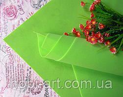 Фоаміран зефірний 1мм 50х50 см №02 салатовий (Китай) див.описання
