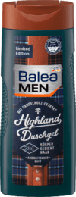 Balea Men Duschgel Highland 3 in1 мужской гель для душа c экстрактом сандалового дерева 3 в 1 300 мл
