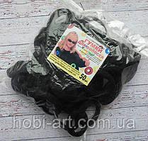 Набір резинок (Калуш) № 16, 4 см (упаковка 50шт) чорна