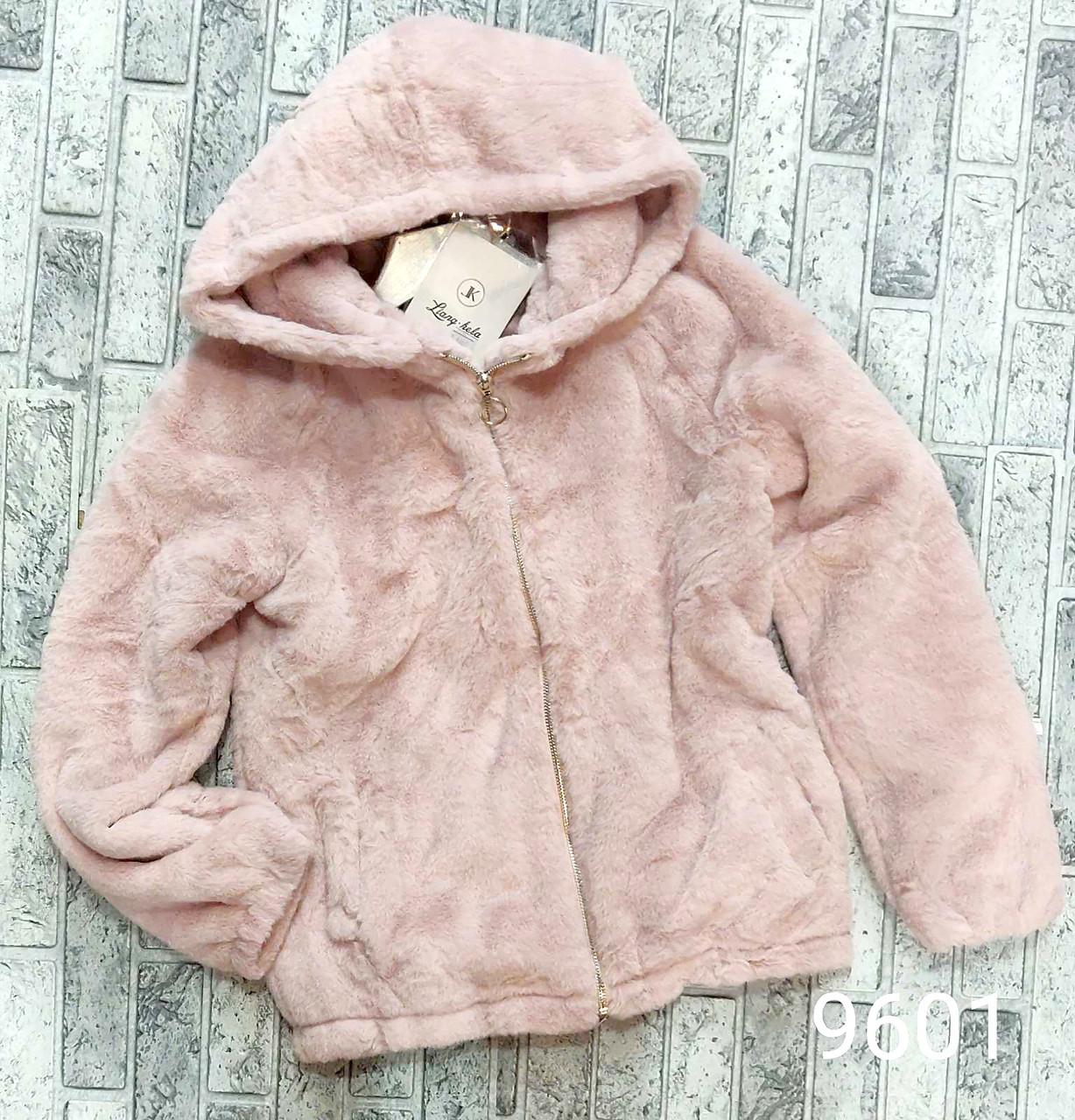 Мягкая женская куртка меховая M-L (в расцветках)