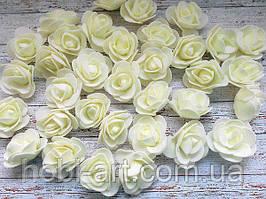 Бутони троянди 30 мм № 05 (молочні)