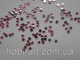 Стрази 5 мм, 4г (200шт.+/-5%) № 10 рожеві