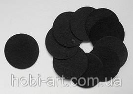 Фетрові кухлики чорні 4см. (10шт)
