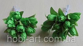 Підсніжник (пучок 10 шт) № 07 білі зелені