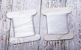 Бісерна нитка Лантан , 30м., біла