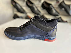 Мужские кожаные демисезонные кроссовки Polbut 🔥🇵🇱, фото 2