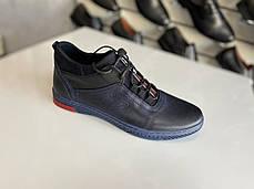 Мужские кожаные демисезонные кроссовки Polbut 🔥🇵🇱, фото 3