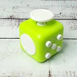 Фиджет Куб Fidget-Cube (антистресс) черный с желтыми кнопками, фото 3