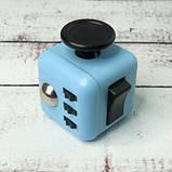 Фиджет Куб Fidget-Cube (антистресс) черный с желтыми кнопками, фото 4