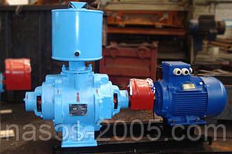Насос ВВН1-6 вакуумный водокольцевой в сборе с электродвигателем