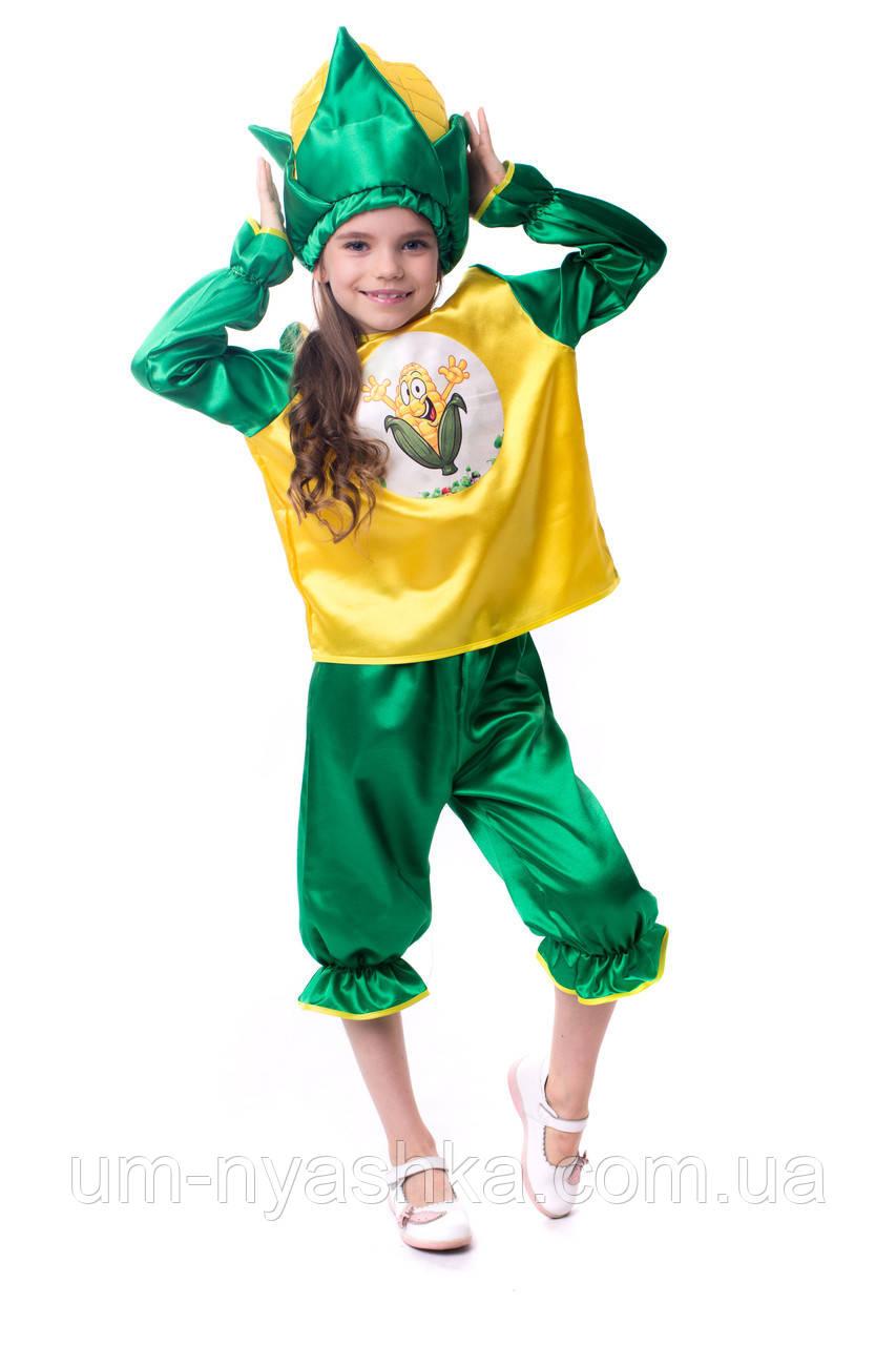Дитячий карнавальний костюм кукурудзи