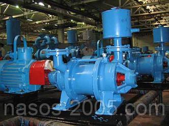 Насос ВВН1-25 вакуумный водокольцевой в агрегате с электродвигателем