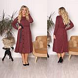 Платье из ангоры софт с карманами 15-701, фото 2
