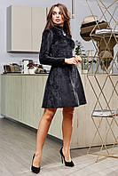 Платье 12-1651- черный:  S M L XL, фото 1