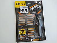 Станок для бритья Body-X Fuze + 19 запасок, фото 1