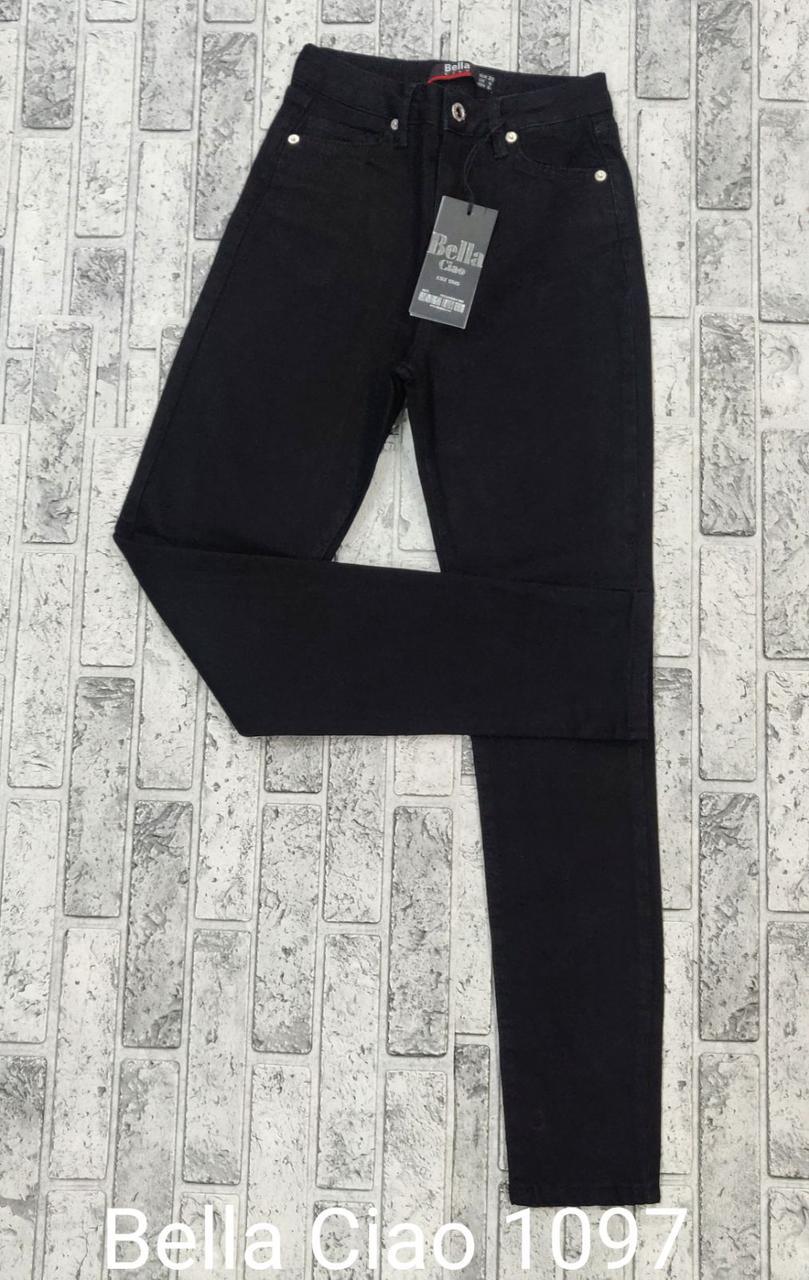 Утепленные джинсы американка на байке Bella Ciao 1097 (26-31)