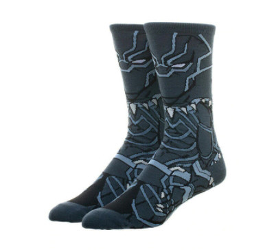 Высокие мужские носки Черная пантера