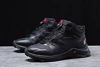 Черные спортивные высокие кроссовки Solomon SuperCross на зиму