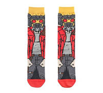 Высокие мужские носки с принтом Звёздного Лорда из Страж Галактики, фото 2