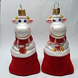 Новогодние игрушки  на елку Бычок в мешку, фото 2