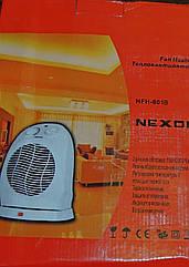 Обогреватель-тепловентилятор NEXON HFH-801B Функция вращения на угол 90 градусов