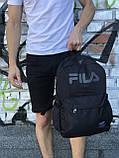 Спортивный рюкзак для школы и спорта Fila (светоотражающий), фото 4