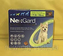 NexGard Spectra (НексгарД Спектра) таблетки для собак 7,5 - 15 кг. Цена за 3 таблетки
