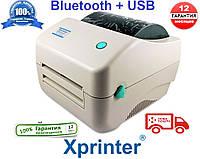 ГАРАНТИЯ 1 год ! Принтер этикеток Xprinter XP-450B USB+Bluetooth  аналог Zebra GC420D, фото 1