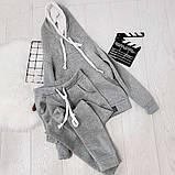 Теплый женский спортивный костюм с капюшоном 35-371, фото 5