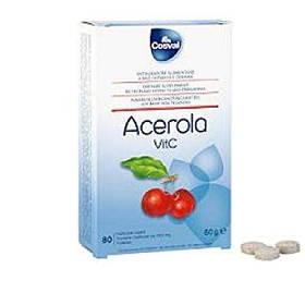 Ацерола в таблетках Природный Витамин С Acerola Vit C Вивасан Швейцария 80 шт