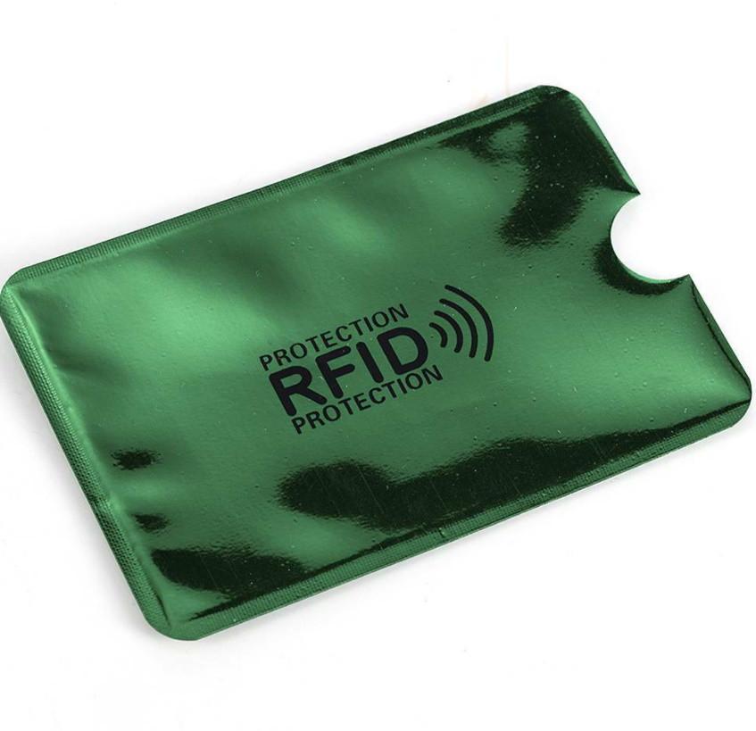RFID чехол для защиты банковской карты от радио—сканирования