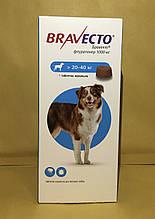 Бравекто (Bravecto®)  Жевательная таблетка для защиты собак от клещей и блох 20-40кг