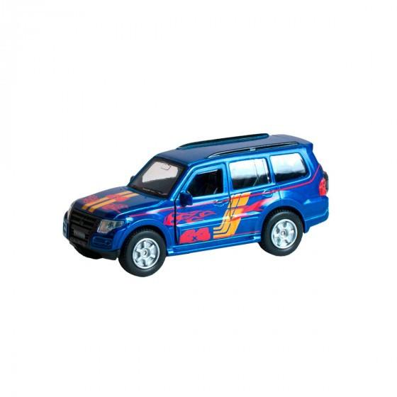 Автомодель - Mitsubishi Pajero Sport (Синий) Technopark SB-17-61-MP-S-WB