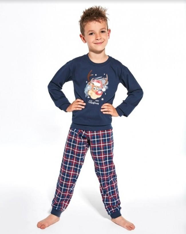 Пижама для мальчика 134-164. Польша.Cornette 966/113 Reindeer