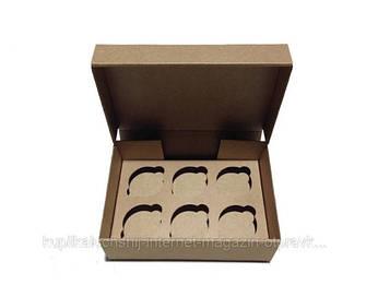 Коробки для капкейков, маффинов, кексов