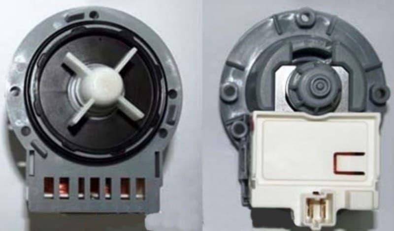 Помпа ASKOLL 34W (спарені клеми під фішку) для пральної машини Indesit Ariston C00283641
