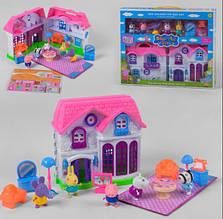 Домик Свинки Пеппы с мебелью и героями