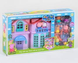 Будиночок Свинки Пеппы з меблями і героями зі світлом та звуком