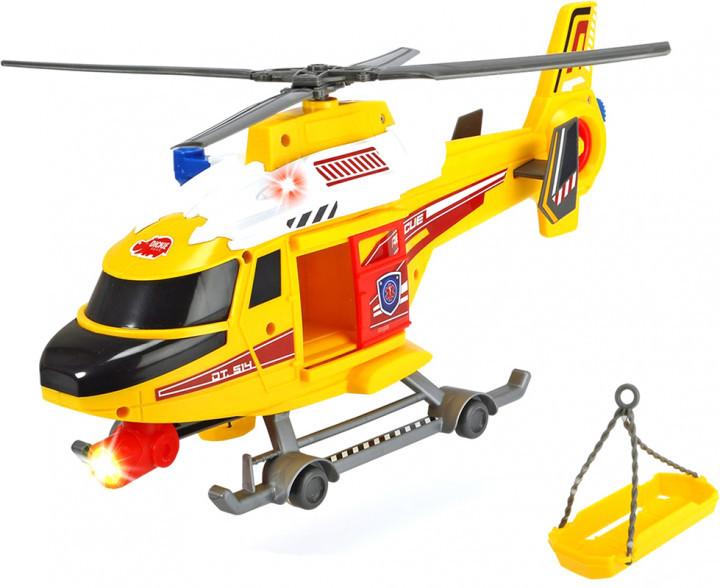 Вертолет Dickie Toys Воздушная Полиция со звуковыми и световыми эффектами, 41 см,  1137003