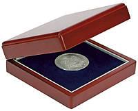 Дерев'яний футляр для монет в капсулах 110Х110 мм - SAFE