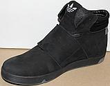 Ботинки молодежные осенние мужские кожаные от производителя модель ВР704-4, фото 2
