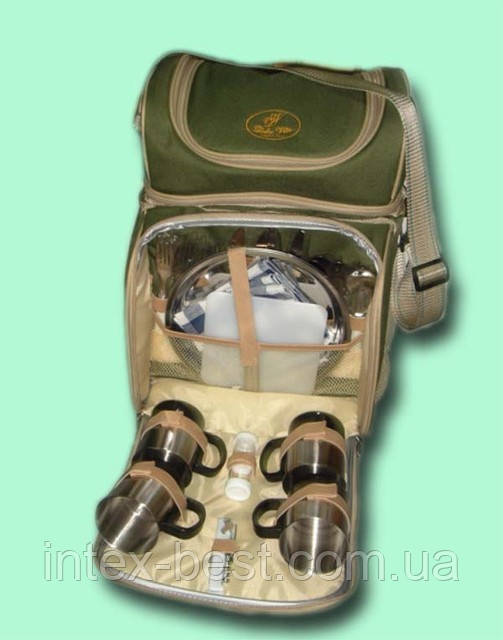 Рюкзак для пикника Dolce Vita с с телескопической ручкой на 4 персоны 082