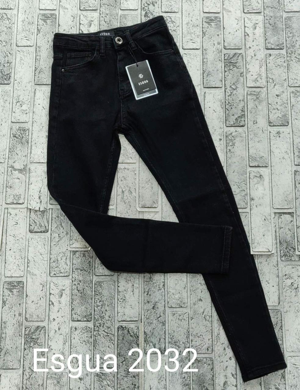 Турецкие стрейч джинсы американка Esqua 2032 (26-31)