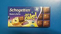 Шоколад TRUMPF Schogetten черничный маффин 100г