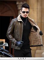 Дубленка мужская зимняя куртка на меху